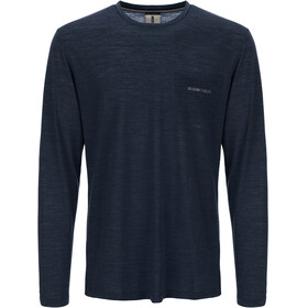 super.natural Movement - T-shirt manches longues Homme - bleu